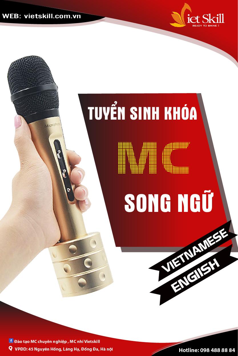 CHƯƠNG TRÌNH KHÓA HỌC MC SONG NGỮ NHÍ LEVEL 2+3